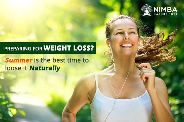 Losing weight in Summer Naturally